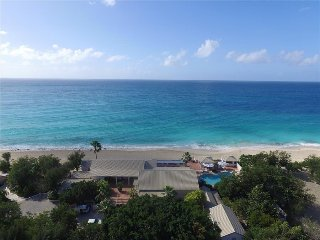 Beachfront 6 bedroom luxury villa, Marigot