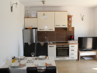SlanoBayApartments, Terasse, for 4 Persons