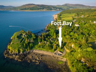 Fort Bay, Inch Island, Co, Donegal, Fahan