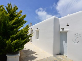 See Mikonos relaxing apartment with private parkin