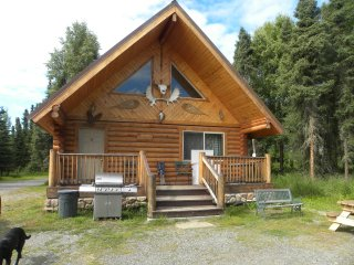 Two Bed Room Log home Kenai River