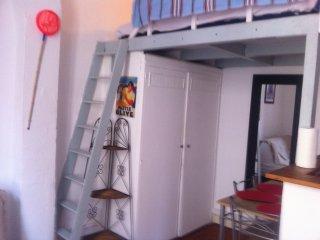 Studio meublé avec mezzanine/Le Panier/prox.MUCEM