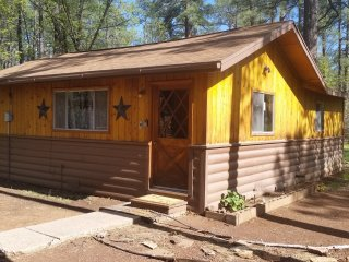 RUSTIC CABIN RETREAT BACKS TO WOODLAND LAKE PARK, Pinetop-Lakeside