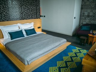 Rooms Lejletul- Comfort Double Room with Square View (Bedr)