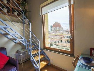 Loft panoramico Largo Alinari