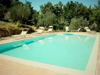 Agriturismo Raggio di Sole: Tuscan holiday apartment rental in stunning hillside property