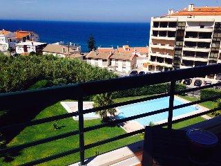 SunShine, Apart vista Mar e piscina, Ericeira
