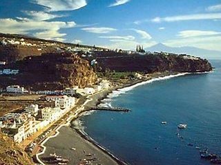 Apartamento de playa en el sur de La Gomera.