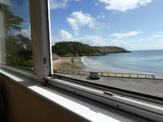 One bedroom beachside apartment at Caswell Bay, Swansea