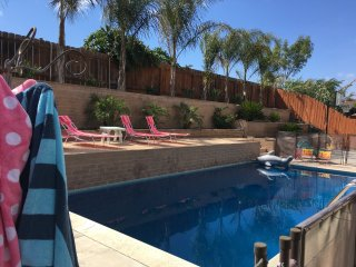 4 bed room Cozy Beach Style Home w/ heated pool, San Diego