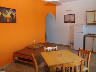 Spacy Ocean view 4persons apartment in Makrigialos, Makry-Gialos