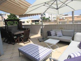 penthouse terrasse free wifi, Tel Aviv