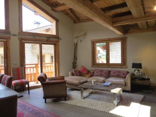 Luxury catered chalet 150m from ski lifts lifts