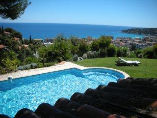 Villa con piscina Costa Azzurra, 7km da MC, Menton