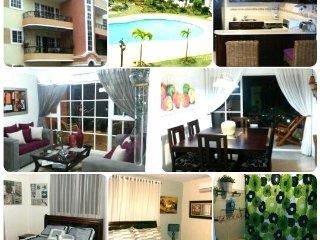 Resort Style Apt 3bd w/ free wifi & Cable, Santiago de los Caballeros