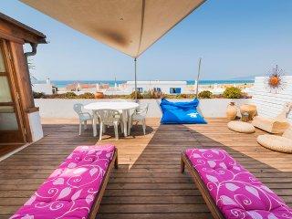 Gran apt 3 Dormitorio,Terraza Vista Mar,Wifi, Tarifa