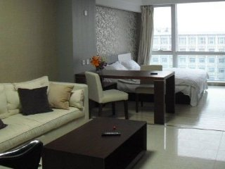 Fully decorated apartment near Chaoyangmen Station, Pekín (Beijing)