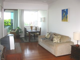 Great sea view, 2bed at the Barra Light house, Salvador