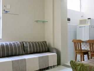 Modern 1-bed close to Porto da Barra Beach in SSA, Salvador