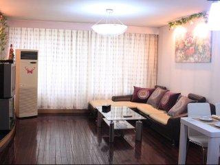 Luxury Two-Bedroom Apartment in CBD Center, Pékin