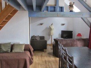 Duplex 3 chambres, Proche de giverny-Léry-le Vaudreuil-6 personnes