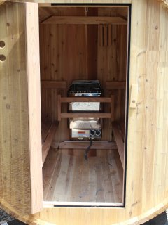 Sauna Electric and outdoors
