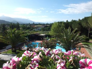 LUXURY APT IN VILLA WITH POOL, VIEW OF ASSISI, Assisi