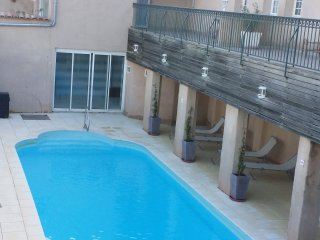 South of France 3 Bdrm with 3 Terraces and Pool
