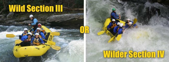 Feel the excitement of the Chattooga River-Run!