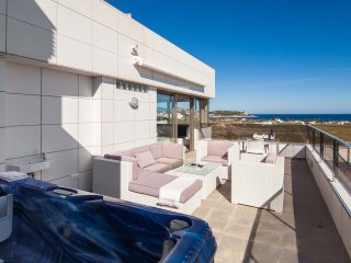 Casa Yole,penthouse with sea view,outdoor minipool, Ibiza Ciudad