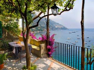 Villa Gaia , amazing sea view in Positano center