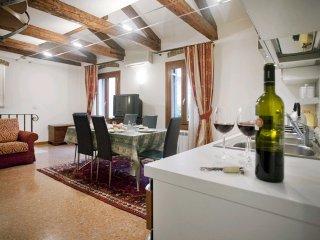 Appartement confortable & spacieux Santa Croce VE, Venice