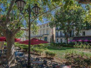 Montpellier écusson - place de la canourgue -