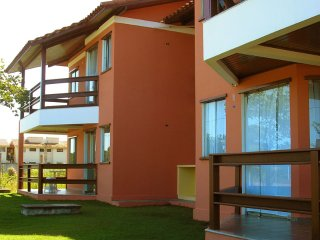 Holiday apartments 1 or 2 rooms Taperapuan beach, Porto Seguro