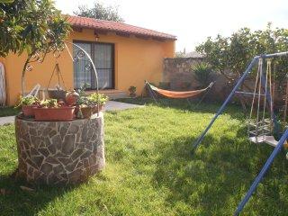 mini alloggio con giardino