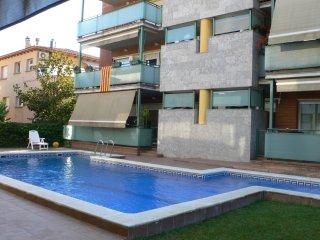 Appart avec piscine pour 5 personnes, Sant Cugat del Vallès