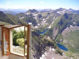 Appart.2/3pers Ski Guzet-neige, montagnes d'Ariège, Seix