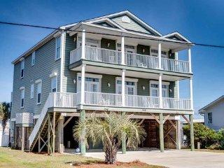 Luxury Ocean/Marsh Vw 7BR/6.5BA House Pool 2nd Row, Garden City Beach