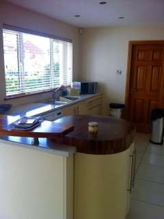 Spacious kitchen/dining room - perfect social space
