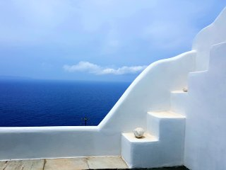 Tinos, House overlooking the Sea!, Agios Romanos