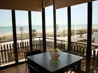 Bonito Apartamento en 1ª linea de playa, Benicásim