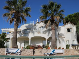 4 bedroom luxury villa, with air con in all bedrooms. Heated pool & hot tub.