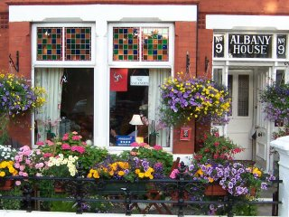 Albany House Bed and Breakfast Peel Isle of Man.