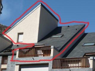 Triplex  2 chambres + Cabine, Plein Centre, Draps fournis