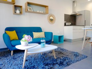 1BR apartment 34sqm A/C modern and quiet, Beaulieu-sur-Mer