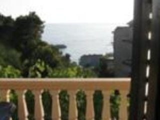 Double room with sea view, holiday rental in Sveti Stefan
