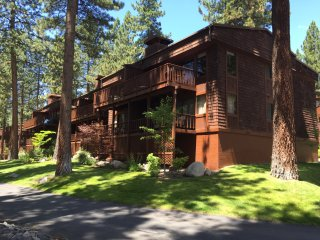 LARGE PINEWILD CONDO WITH PRIVATE BEACH, Zephyr Cove