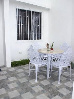 Guest have access to the whole house, kitchen and kitchen ware. BBQ grill stand is available .