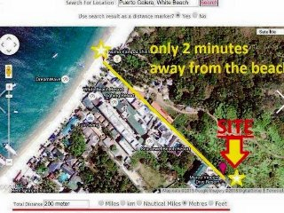 Casa di Nanoy -  2 bedroom house  - white beach and they call it paradise, Puerto Galera