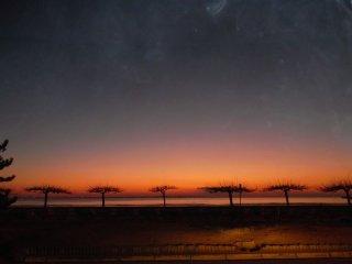 face à la plage de Saint Georges de didonne